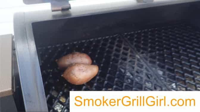 smoked Pit Boss sweet potatoes
