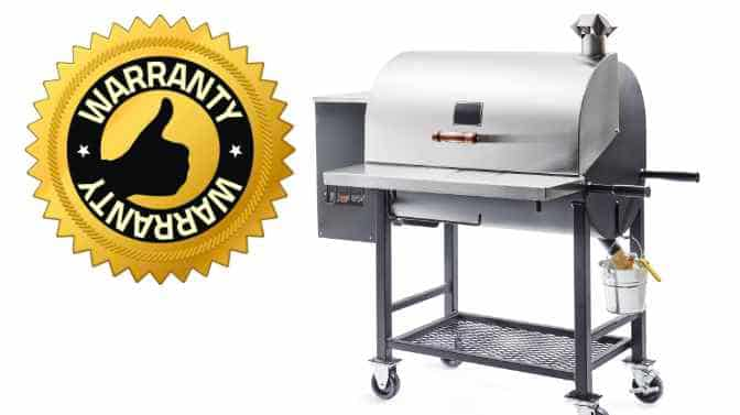 what is the warranty on a Pit Boss pellet grill