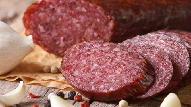 how to cook summer sausage on a Pit Boss pellet grill